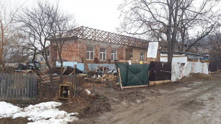 Status lucrări Școala Scobîlțeni, februarie 2019
