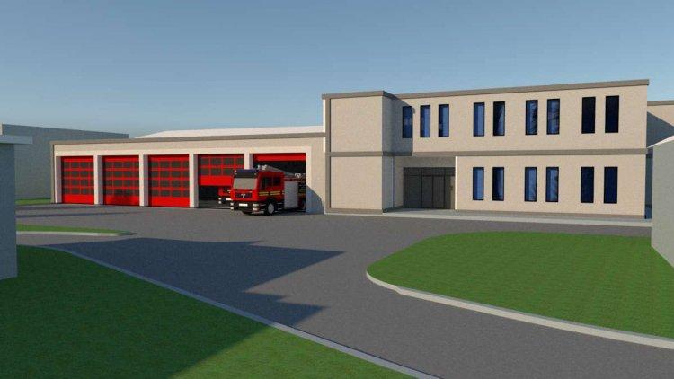 Machete noua Stație de Pompieri