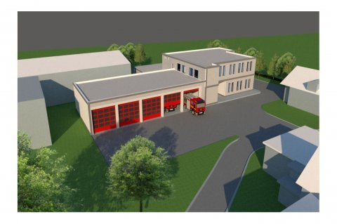 Proiect Stație Pompieri Podu Iloaiei