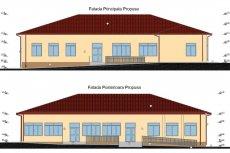 Școala Scobulțeni - planșă din proiectul de renovare